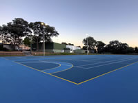 Acrylic Netball Surface