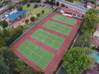 tennis court construction specialists - example