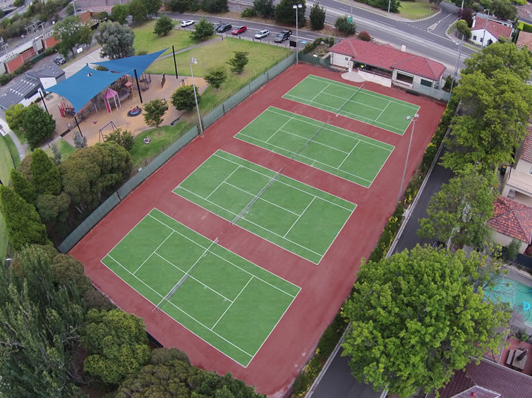 Tennis Court Builders Melbourne Synthetic Grass Tennis