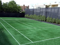 private tennis court builders