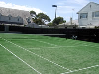 tennis court builders in Melbourne and Sydney - example