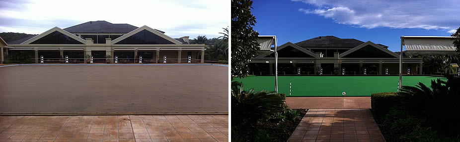 Glengara Bowling Green - Before & After